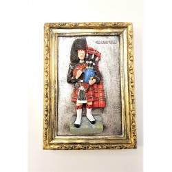 Scottish Piper Photo Frame