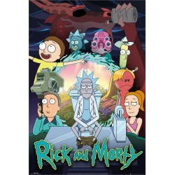Rick and Morty Poster Season 4 61x91.5cm