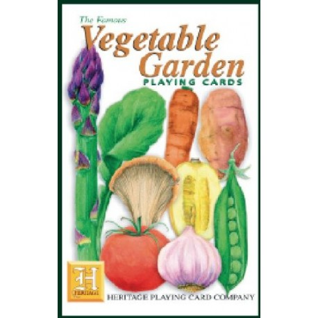 Heritage Playing Cards: Vegetable Garden Playing Cards