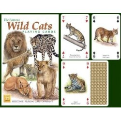 Heritage Playing Cards. Wild Cats
