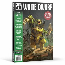Games Workshop - Warhammer Magazine - White Dwarf - Issue 451 (February 2020)