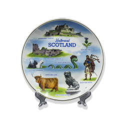 Scottish Porcelain Display Plate