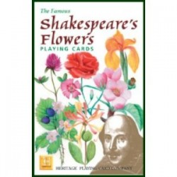 Heritage Playing Cards: Shakespeare's Flowers