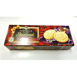 Campbell's Shortbread - 120g Rounds Shaped Carton