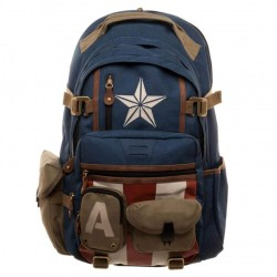 Captain America high end Backpack Laptop Bag