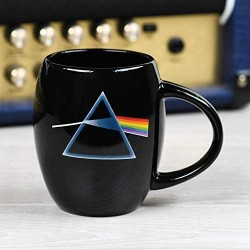 Pink Floyd Dark Side of the Moon Oval Ceramic Mug, 15 Ounces