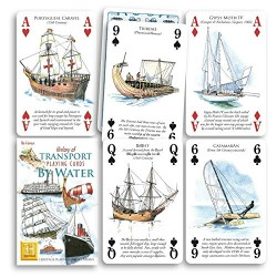HISTORY OF TRANSPORT PLAYING CARDS BY WATER