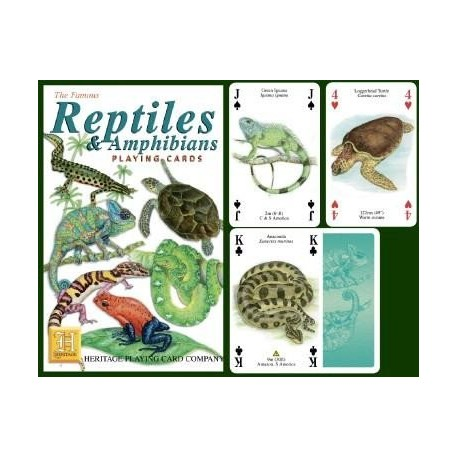 Heritage Playing Cards. Reptiles and Amphibians