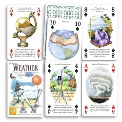 Heritage Playing Cards - Weather Facts and Phenomena Playing Cards