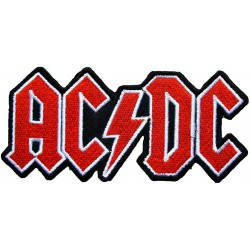 AC\DC Iron or Sew on Embroidered Patch