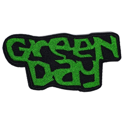 Green Day Iron on or Sew on Patch