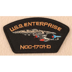 USS Enterprise Patch - Iron or Sew On