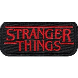 Stranger Things Patch Iron On or Sew on Patch