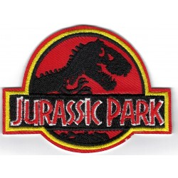 Jurassic Park Iron or Sew on Patch
