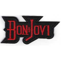 Bon Jovi Iron or Sew on Patch