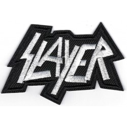 Slayer Iron or Sew on Patch