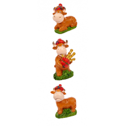 Highland Cow Ornament (1 SUPPLIED)