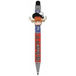 Highland Cow Crystal Pen