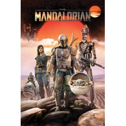 Star Wars: The Mandalorian (Group) Poster 61 cm by 91.5