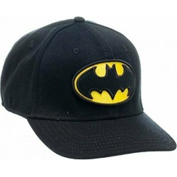 Baseball Cap - DC Comics - Batman Logo Flex New Licensed bx3zejbtm