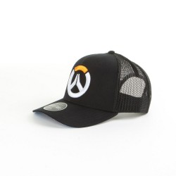 Overwatch Logo Baseball Cap Black, Grey