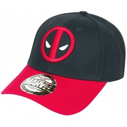 Marvel Deadpool Logo Baseball Snapback Cap Official