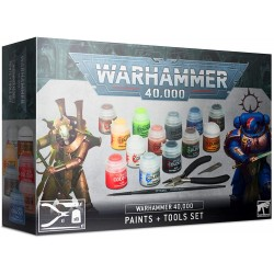 Warhammer 40,000 - Paints and Tools Set