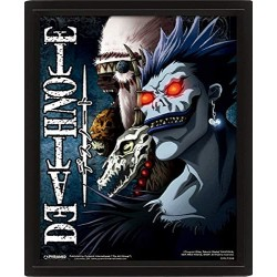 Death Note EPPL71338 3D Shinagimi Frame, Multi-Colour, 28 x 23 x 5 x 4.5 cm