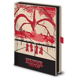 Stranger Things Light Up Premium A5 Notebook (Mind Flayer)