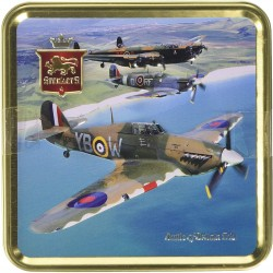 Battle of Britain Tin Filled with Luxury Shortbread 125g