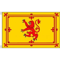 Scottish Gift's - Lion Rampant Flag 5ft by 3ft