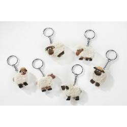 SHEEP KEYRING (1 SUPPLIED)