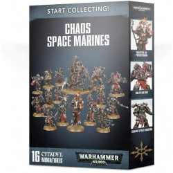 Warhammer 40,000 Chaos Space Marines Start Collecting!
