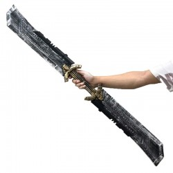Double-edged sword cosplay costume accessory tanos  props