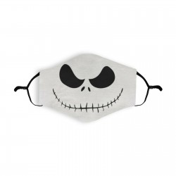 Halloween Jack Skellington Re-usable Face Mask