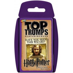 Harry Potter and the Prisoner of Azkaban Top Trumps Card