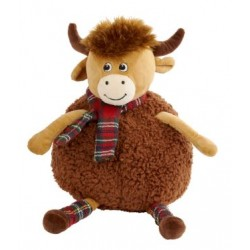 PLUSH HIGHLAND COW