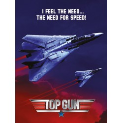 Top Gun (Need For Speed Jets) Canvas Print 60x80x1.5cm