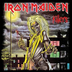 Iron Maiden Killers Canvas Print, 40 x 40 cm