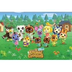 Animal Crossing Poster Lineup Nintendo 91,5 x 61 cm