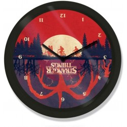 "stranger things 10"" Upside Down Wall Clock"