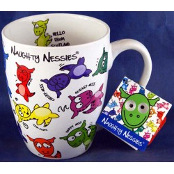 Naughty Nessie Coffee Cup