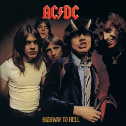AC/DC (Highway to Hell) Canvas Print 40 x 40