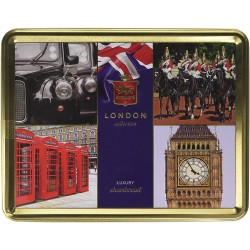 Best of British Tin Filled with Luxury Shortbread 400g