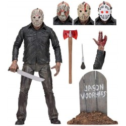 Neca w/Accessories Friday The 13th Jason Articulated Figure, Multi-Colour (B07H8JJBJH)