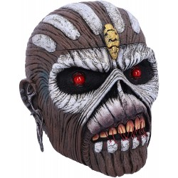 Officially Licensed Iron Maiden The Book of Souls Eddie Head Box, Brown, 15cm