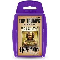 Harry Potter and the Prisoner of Azkaban Top Trumps Specials Card Game