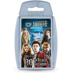 Harry Potter 30 Witches and Wizards Top Trumps Specials Card Game