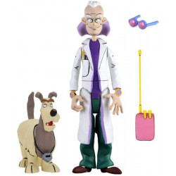 Doc Brown and Einstein - Toony Classics - Back To The Future - NECA