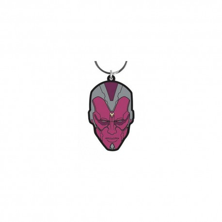 The Vision (Age of Ultron Face) Rubber Keyring